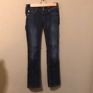 Silver women's Kingston jeans size 26/31.5